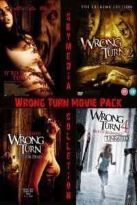 Wrong Turn ( 1+2+3+4+5+6 ) Special Package