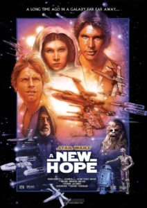 Star Wars IV : A New Hope 1977
