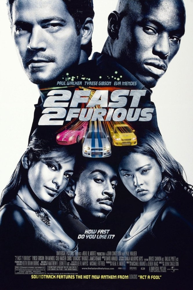 2 Fast 2 Furious (2003) – Channel Myanmar
