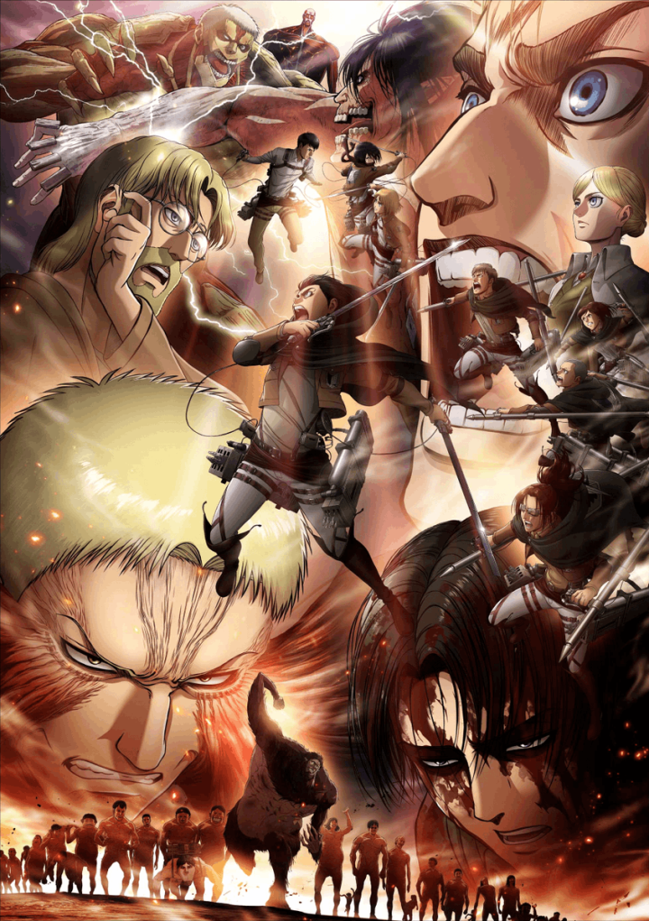 Attack on Titan (season 3 vol.2)