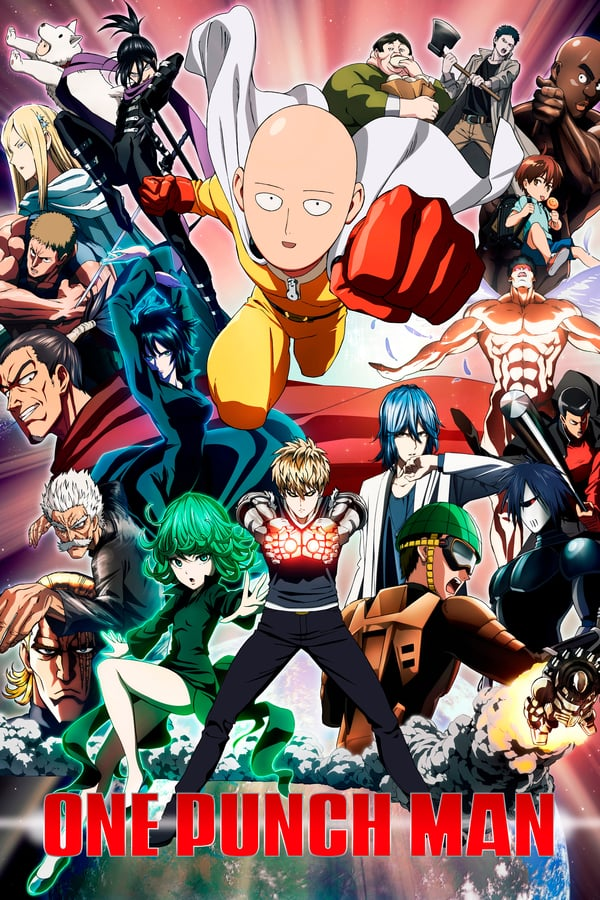 One-Punch Man (2015) season 1 complete