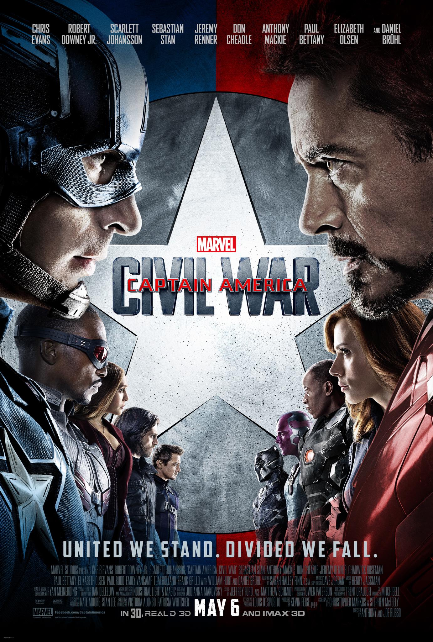 Captain America: Civil War (2016) MCU
